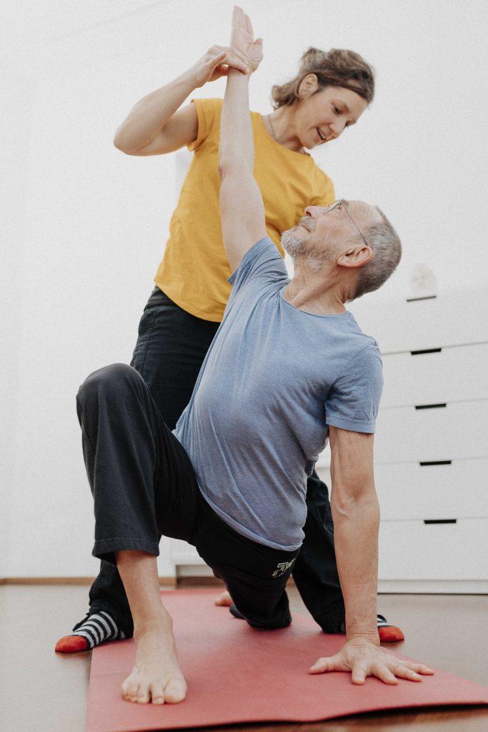 Physiotherapie und Yoga 1